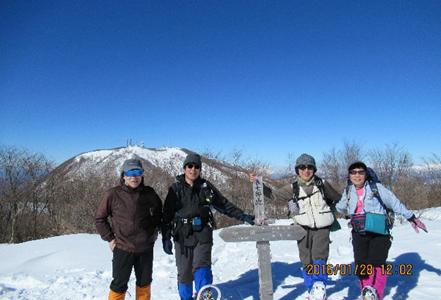 赤城山:長七郎山(1.579m)