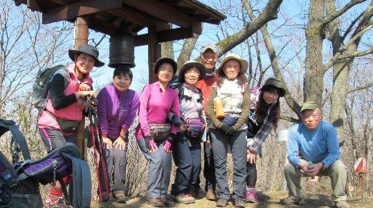 カタクリ探訪リベンジハイク・鐘撞堂山