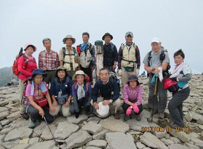 湯の丸山(2101m)~烏帽子岳(2066m)