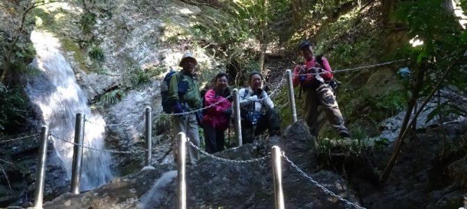 黒山三滝~関八州見晴台(トレーニング山行)