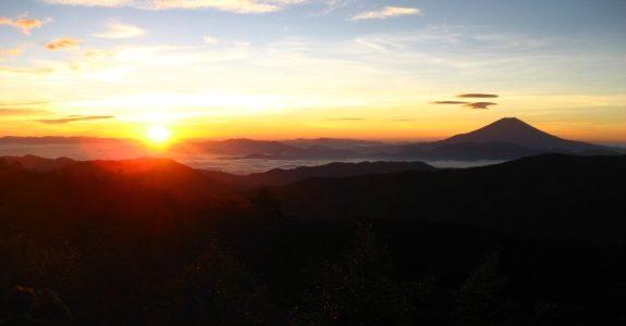 個人山行:南アルプス荒川三山 縦走