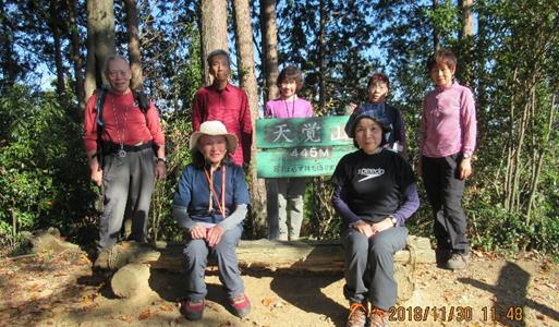 11月個人G山行:大高山493m~天覚山445m(飯能アルプス)