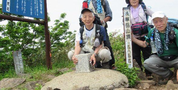浅草岳(1.585m)