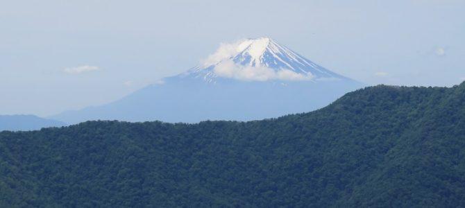 天目山(1576m)~蕎麦粒山(1444m)