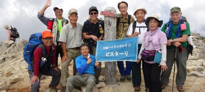 木曽駒ヶ岳(2,956m)