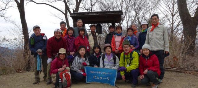 3月度YR会山行:鐘撞堂山公開ハイク
