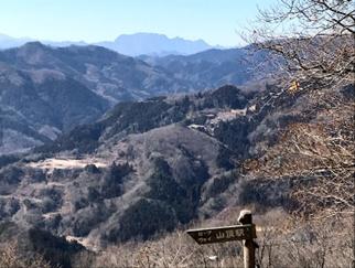 2019年2月度会山行:宝登山(497m)